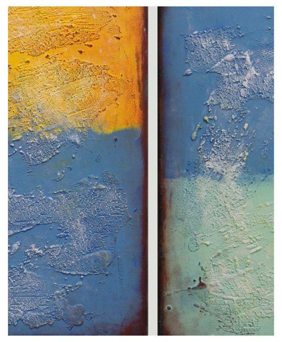 La pintura de acrílico arte de la pared de la lona arte