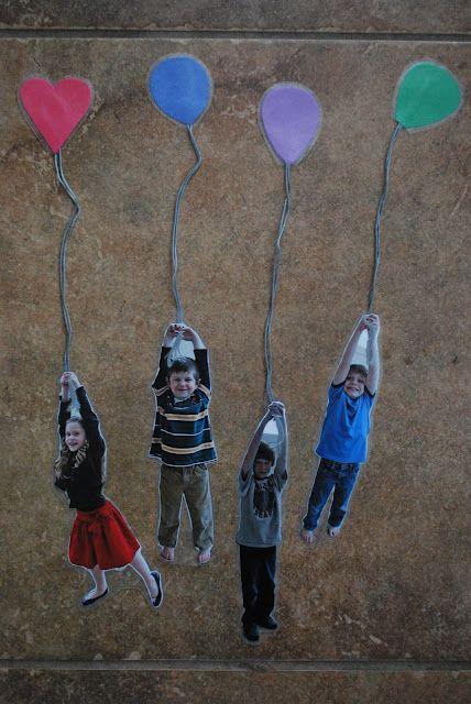 Cute balloon bookmarks