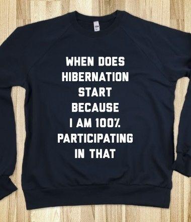 Hibernate!