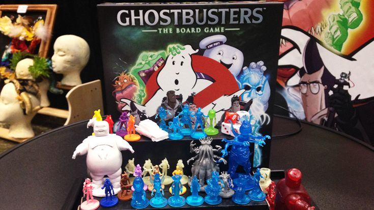 Warm Up Your Proton Packs for Ghostbusters: The Board Game (As a huge Ghostbusters fan I really want to pick this game up and give it a try.)