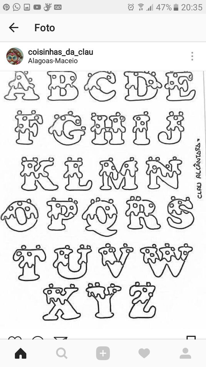 Bdaileen With Images Lettering Alphabet Hand