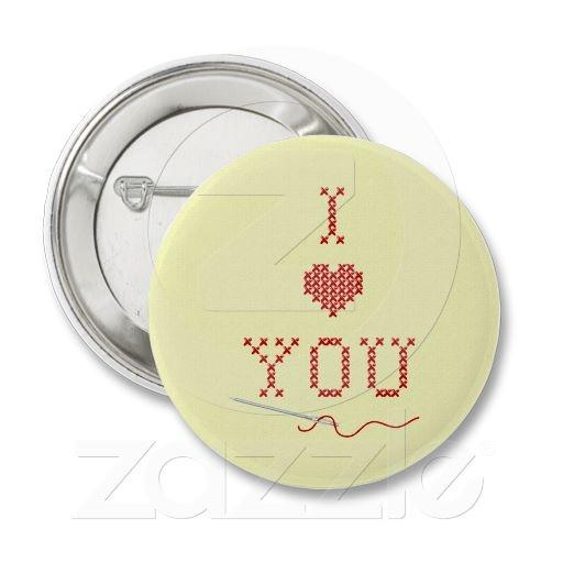 I love you pin