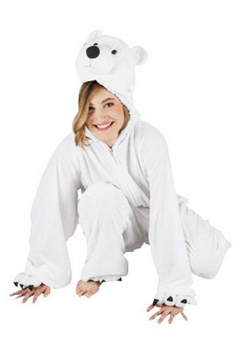 Ijsbeer pak voor volwassen : Vegaoo Volwassenen Kostuums