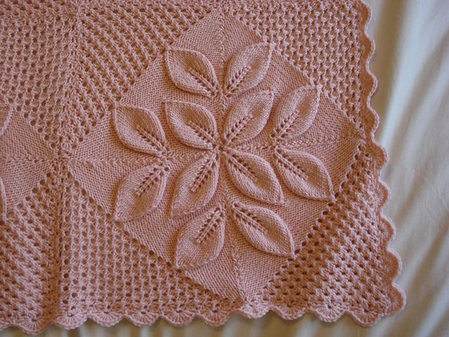 Nantucket Afghan Knitting Pattern : Best 340 Baby blankets & shawls images on Pinterest ...