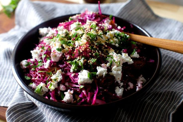 date, feta and red cabbage salad – smitten kitchen