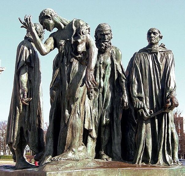 The Burghers of Calais - Auguste Rodin