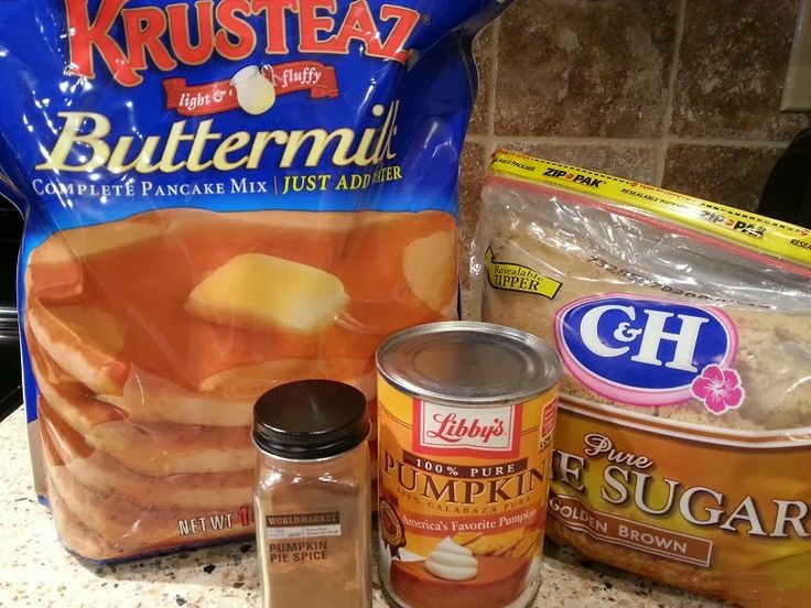 Sub with gluten free pancake mix....Cook This Again, Mom!: Quick and Easy Pumpkin Pie Spice Pancakes