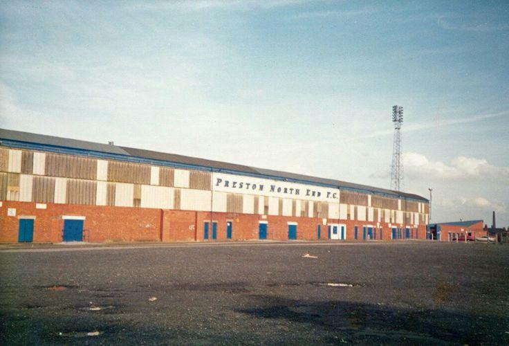 Deepdale, Preston North End in the 1970s.