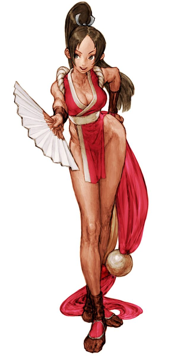 Mai Shiranui (Fatal Fury) - Pictures & Characters Art - Capcom vs. SNK