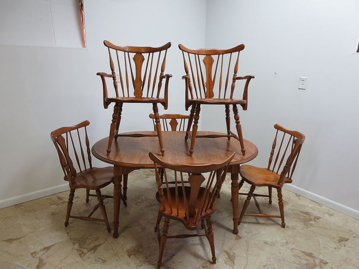 Antique Maple Dining Room Set Antique Maple Dining Room Table And Chairs