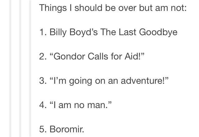 Boromir though