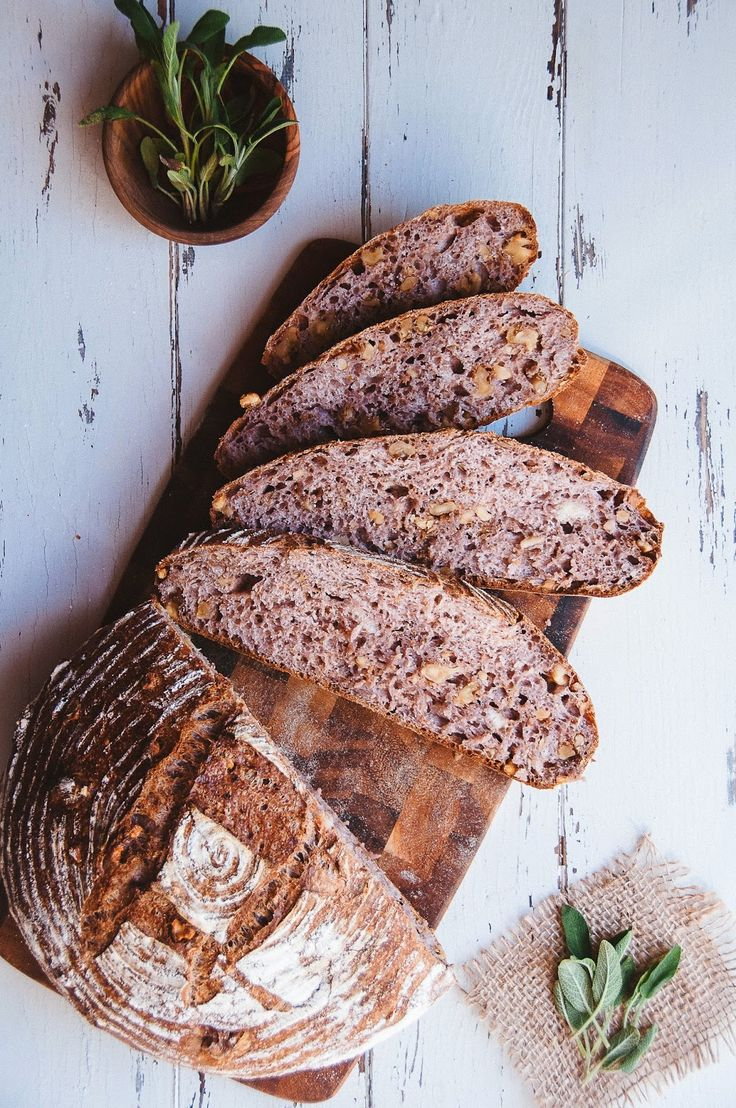 Sage and Walnut Bread