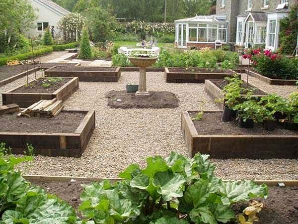 railway sleeper garden design