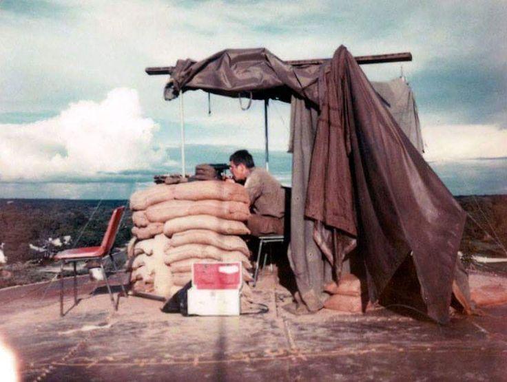 Observation post water tower Katima Mulilo 1980