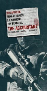 In Theaters Now: The Accountant