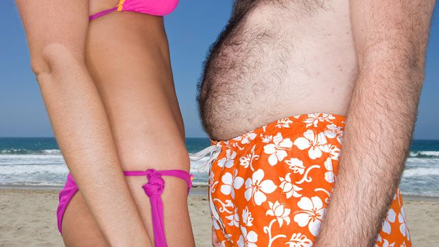 Cele mai multe femei prefera un barbat mai gras în locul unuia musculos. Motivul este uimitor