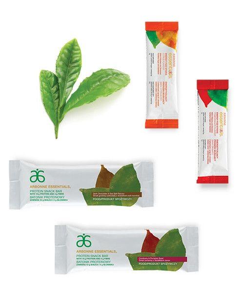 Produkty spożywcze Arbonne przeznaczone dla indywidualnych potrzeb zawierają ujednolicone wyciągi roślinne oraz ważne witaminy, minerały i inne niezbędne składniki.