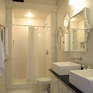 Small Master Bath Walk In Shower Design Ideas, Pictures, Remodel and Decor