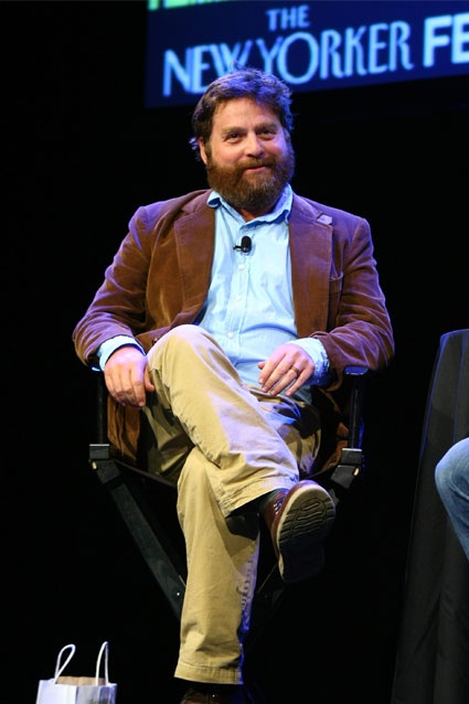 Zach Galifianakis    While on Real Time with Bill Maher, the funny man talked about his desire to legalize marijuana and that he thought people's opposition to legalizing marijuana might be due to the fact that the drug was still considered taboo. At that point, he pulled out what appeared to be a joint and lit it.