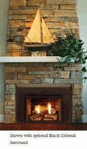 majestic topaz 30ildv direct vent gas fireplace insert propane gas