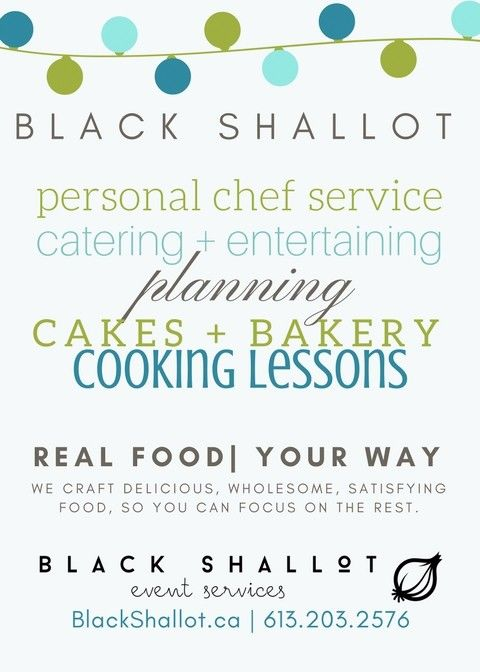 Ottawa's Personal Chef | Real food, your way!