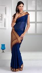 simple cotton saree