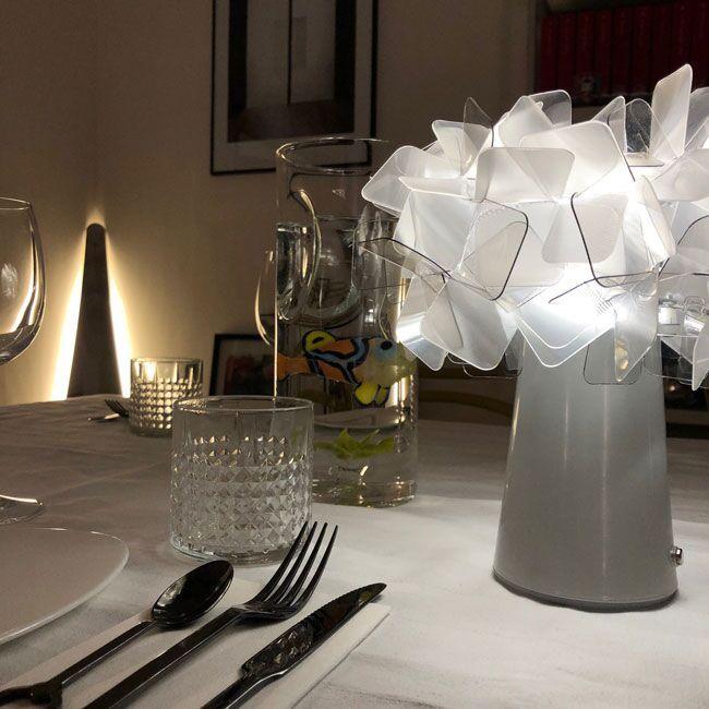 Clizia, lampada da tavolo Slamp #clizia #slamp #megawatt