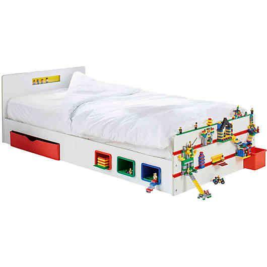 Kinderbett Room2build Inkl Lattenrost Mit Bauleisten 90 X 200 Cm