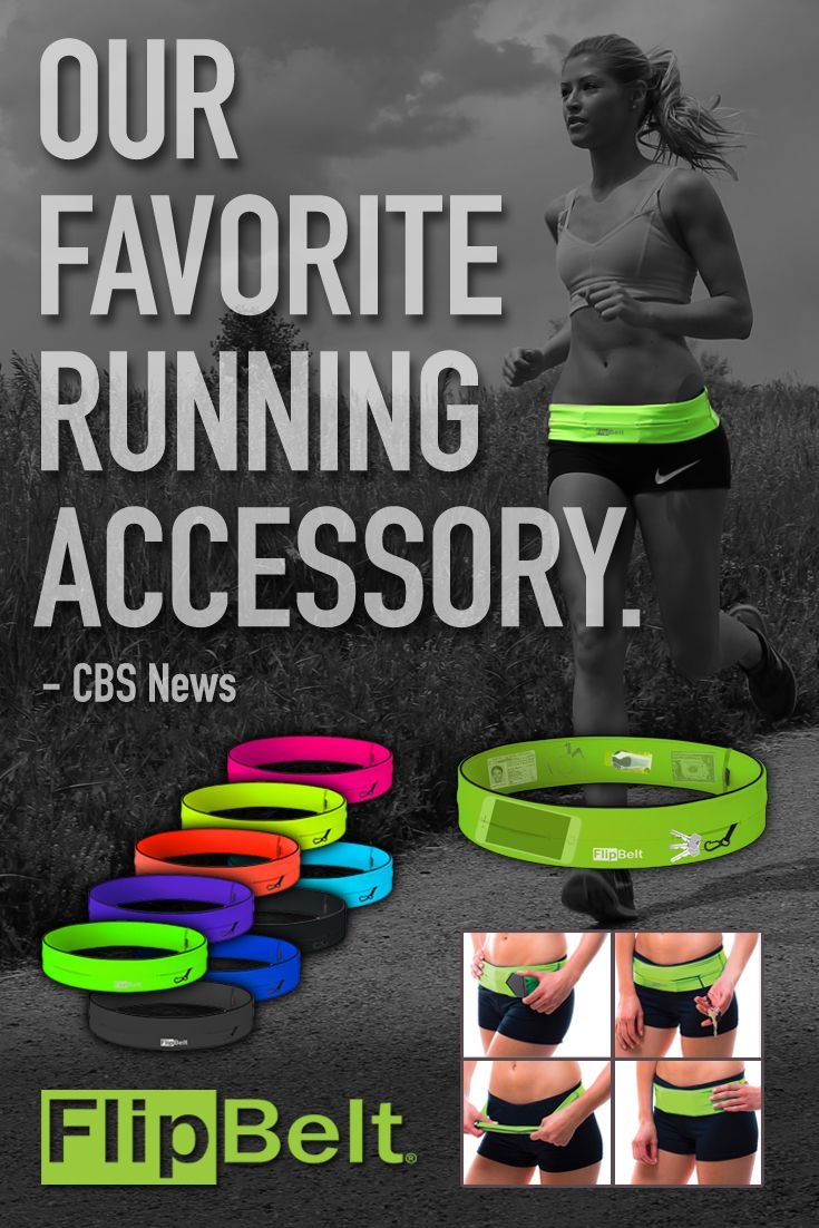 Join the quickly growing community of FlipBelt fans and discover why we're the #1 product in the running category! Fits all phones (including the iPhone 6 Plus), credit cards, keys, gels, medical, mace, lip balm, powerbar, etc... No Bounce! Machine wash! Move your phone to any location on your waist for different activities. Use 10% off code: PIN10 until 12/31/2016. Click the image to shop now.