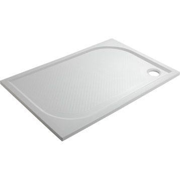 Receveur de douche Klara SENSEA, rectangulaire, 120x80 cm