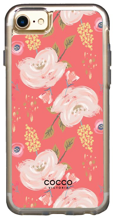 Coral Bliss Vogue Case - iPhone 7/6S/6 - coccovictoria.com