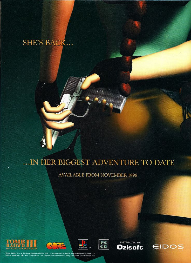 Lara Croft is back, and in his biggest adventure yet with Tomb Raider III.
