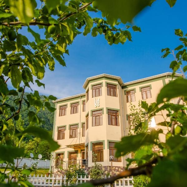 White Boutique Hotel Boasting A Garden A Bar And A Shared Lounge White Boutique Hotel Is Situated In Gabala And Is 20 Km From Boutique Hotel Hotel Garden View