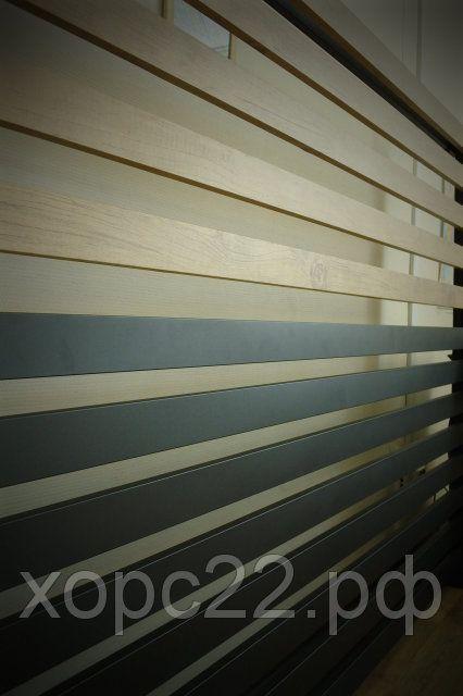 Горизонтальные металлические заборы , фото 3