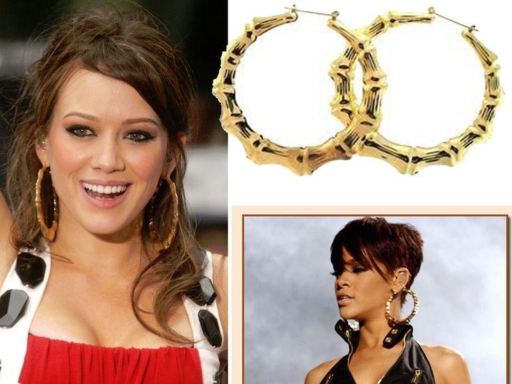 Ghetto Gold Hoop Earrings