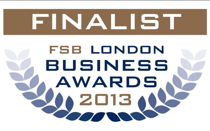 Whoop! Whoop! We've been shortlisted for the inaugural FSB London Business Awards 2013