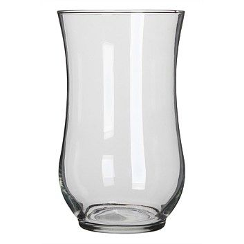 Choose from a selection of ornamental vases available in a range of styles & colours for the home. Order online at Briscoes & we will deliver to your door., Libbey Angela Hurricane Vase 26.6cm