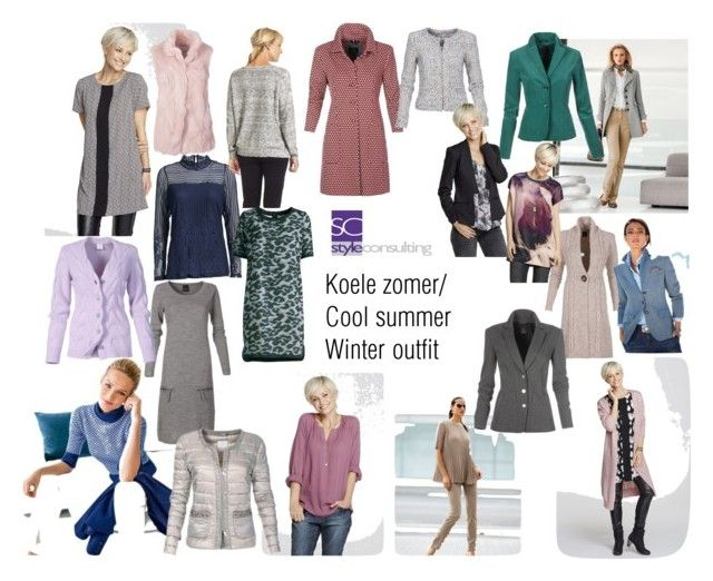 """""""Koele zomer type/ Cool summer color type, winter outfit"""" by roorda on Polyvore featuring mode"""