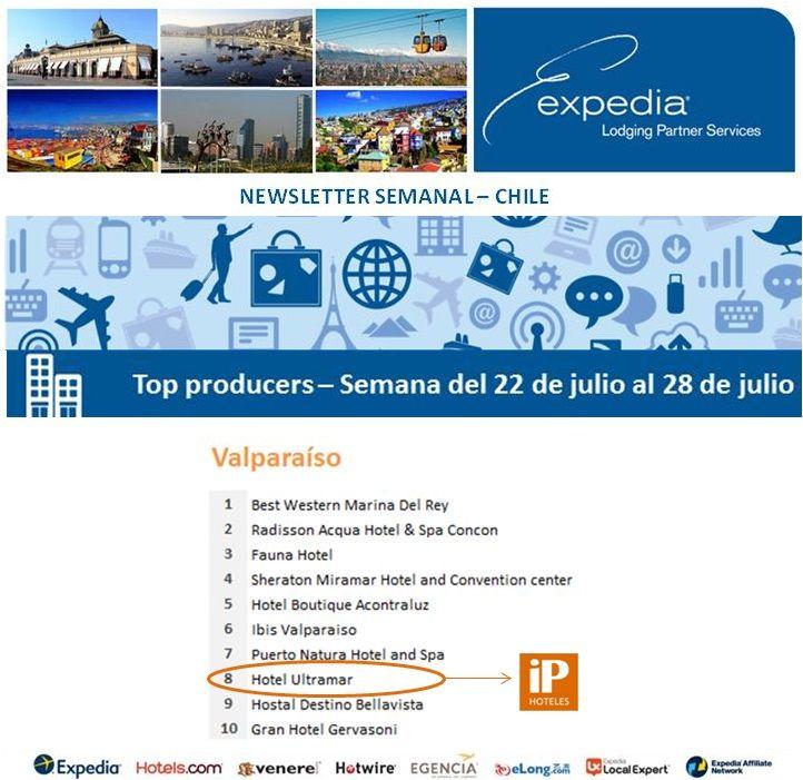iP Hoteles - Expedia - Semana del 22 de julio al 28 de julio de 2013 - Ultramar