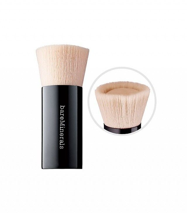 Brush meant for a small amount of liquid foundation // Bare Minerals Beautiful Finish Brush