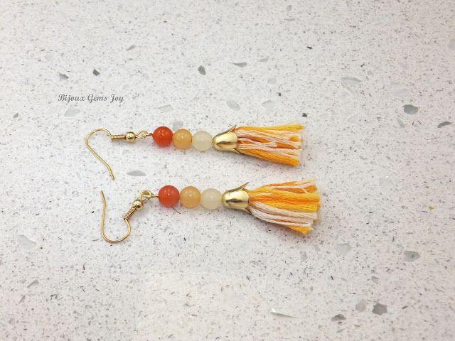 In the Tulip Field Earrings