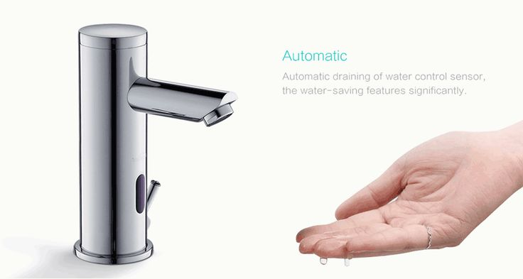 Sensor Faucet. The future of faucets. Any Application. Any Environment.