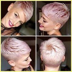 25 coiffures courtes pour cheveux raides