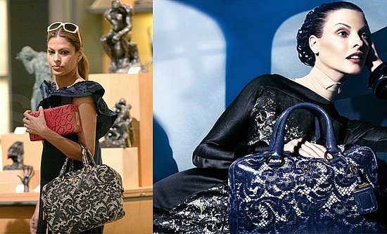 Prada lace bowler (2008) - always loved this bag for some reason.