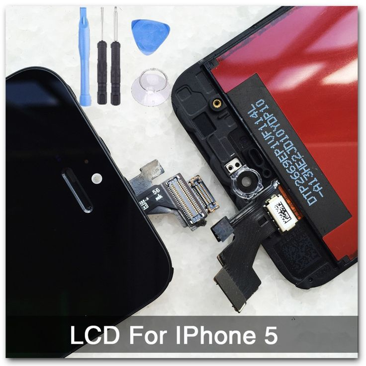 Black 100% Guarantee A+++ Display for Iphone 5 LCD Touch Screen Digitizer Assembly + Tools +With Original Digitizer Glass