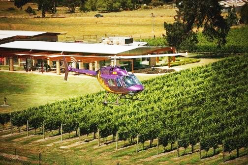 Wine Tasting Helicopter Tour, Hobart - TAS