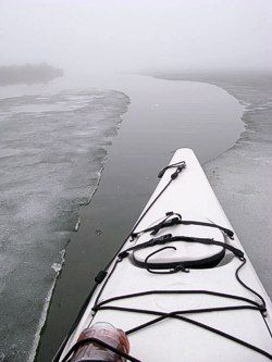 Safe winter kayaking tips