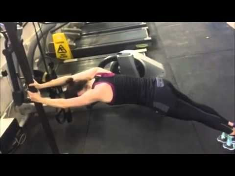Daisy Ridley gym workout/training for Star Wars: The Force Awakens - YouTube
