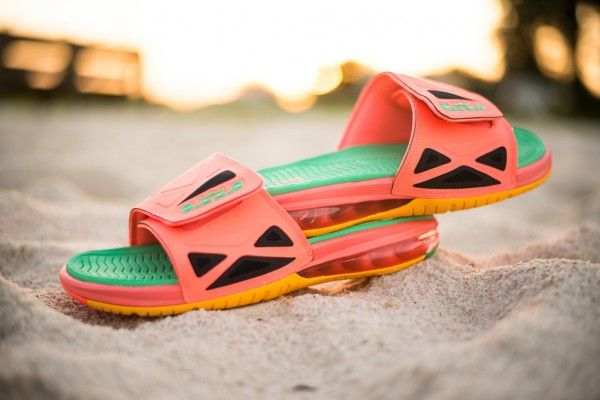 Nike Air LeBron 2 Slide Elite 'Watermelon'