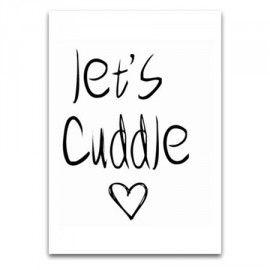 Jots Kaart Let's cuddle